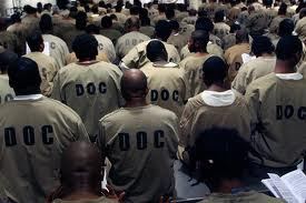 Black men incarcerated