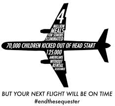 Since air traffic controllers were not furloughed, we can still 'fly' that $815 million to the Syrian people. No problem.