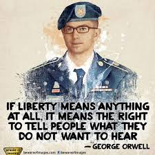 Once, I would have said that Bradley Manning deserves the Nobel Peace Prize, but since Obama has one, quite obviously, it has no meaning anymore. Therefore, I can only state that Bradley Manning should be FREE!!!!