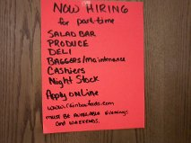 Part-time jobs=reduced purchasing power. To the corporate bigheads: Are you getting it?