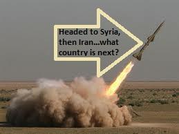 headed to Syria