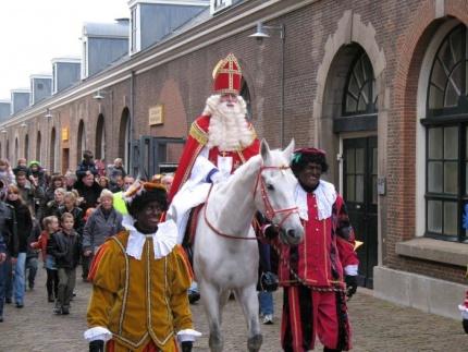 SinterKass on his horse