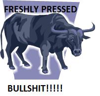 freshly pressed bullshit