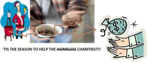 tis the season for charities