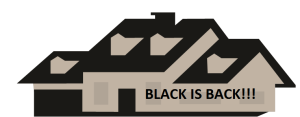 "White supremacist house was spray painted, ""Black Is Back!"" LMAO!"