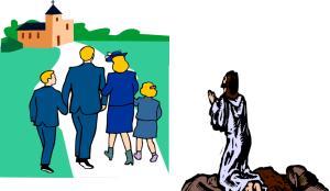Jesus shunned