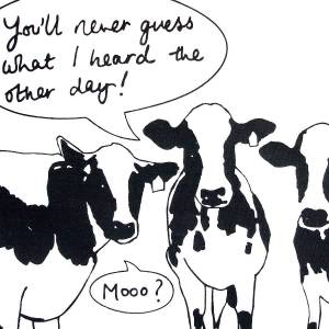 original_screen-printed-gossiping-cow-tea-towel