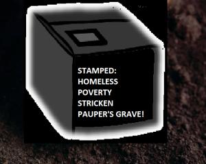 homeless burial 1