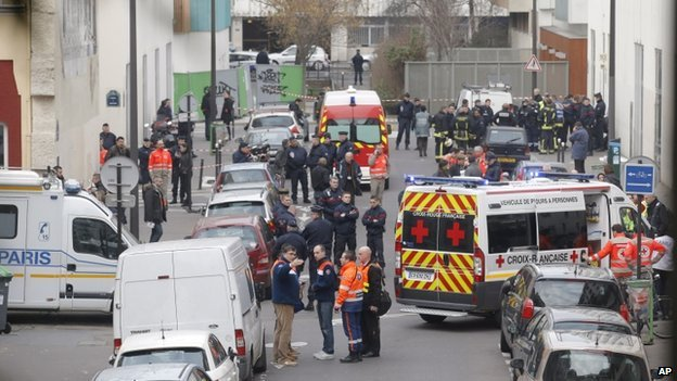 shootings in France