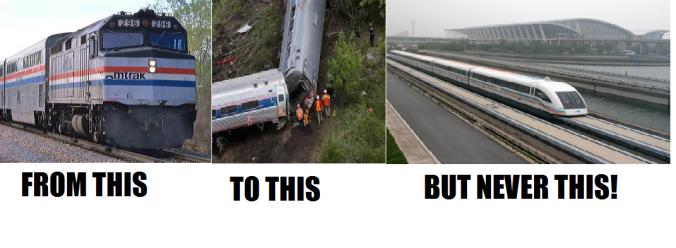 train shame