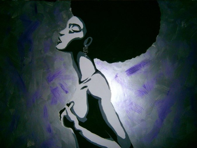 Afro queen by mojjamn