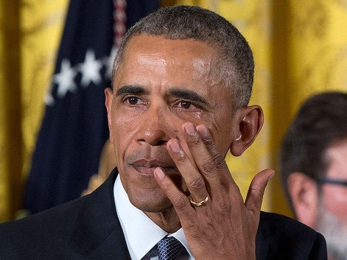 obama cries again
