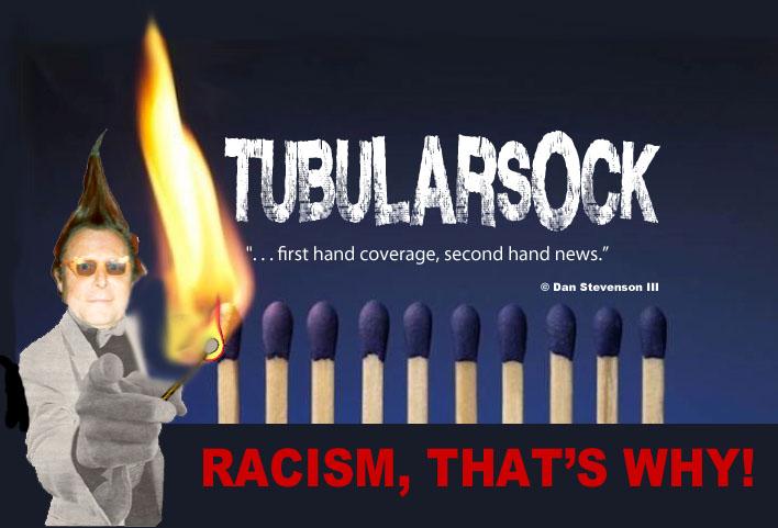 Tube heading racism