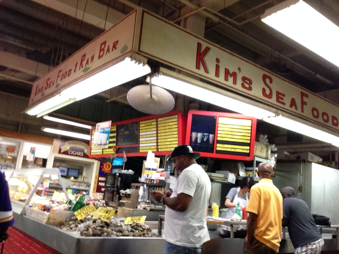 I saw not one 'Black-owned' soul food stall in Lexington Market. Not one.