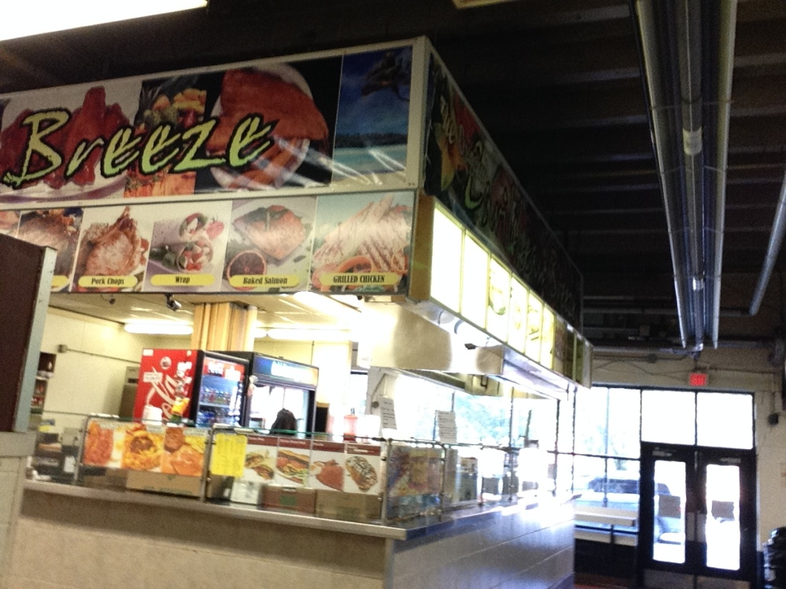 This is the last stall in 'Little Lexington Market'.