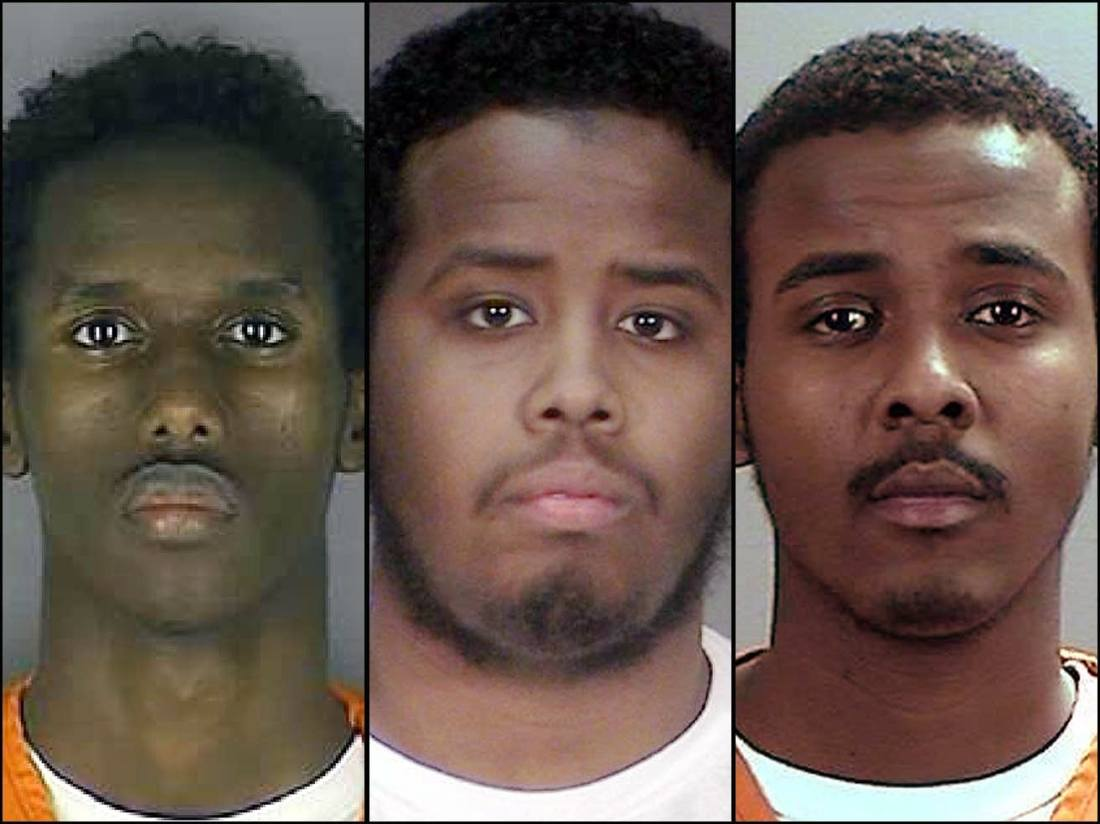 These Muslims became terrorists to thank us for our tax dollars! Oh yes, they did! Three Minnesota Men Found Guilty Of Plotting To Join ISIS! Yeah, that's thanking U.S.